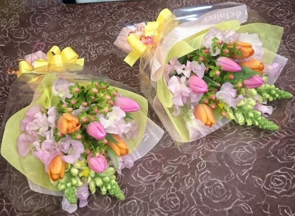 合格祝い〜花束〜